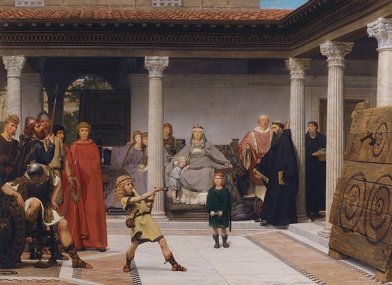 File:Alma-Tadema The Education of the Children of Clovis.jpg