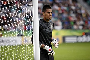 Alphonse Areola - Areola playing for France Under 19s