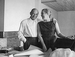 Alvar Aalto - Alvar and Elissa Aalto in the 1950s