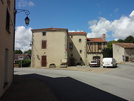 The town hall in Amailloux