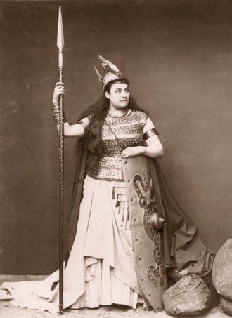 Amalie Materna - Brünnhilde in the Ring Cycle (Bayreuth, 1876)