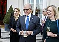 Amb Johnson with Trade Sec Truss at Winfield House.jpg