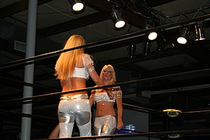 Amber O'Neal - O'Neal and Vaine in 2005