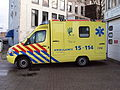 Ambulance Haaglanden unit 15-114, Mercedes at Delft, The Netherlands pic5.JPG