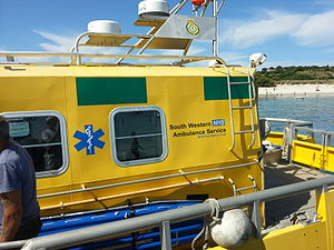 South Western Ambulance Service - Scilly Isles August 2014