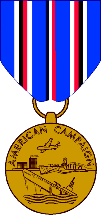 American Campaign Medal - Image: American CM
