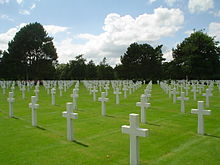 American military cemetery normandy2 2003.jpg