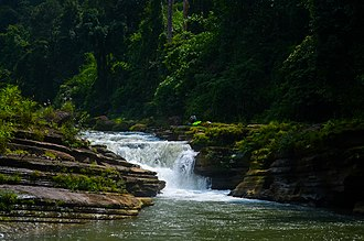 Thanchi Upazila - Image: Amiakhum আমিয়াখুম ঝর্ণা