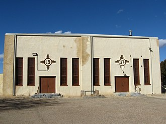 National Register of Historic Places listings in Union County, New Mexico - Image: Amistad NM Gymnasium