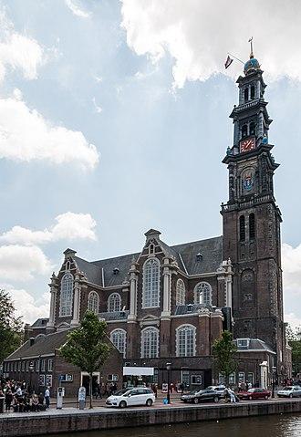 Westerkerk - The Westerkerk in 2015