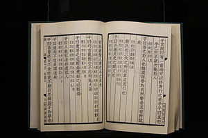 Analects - The Analects of Confucius, from Östasiatiska Museet, Stockholm