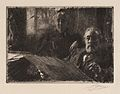 Anders Zorn - Mr. och Mrs. Fürstenberg (etching) 1895.jpg