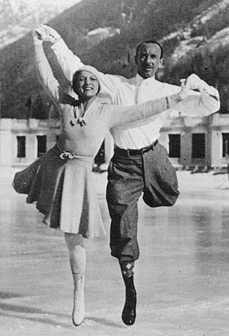 Andrée Brunet - Andrée and Pierre Brunet in 1933