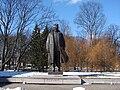 Andrejs Upītis 1877-1970 (1982. tēln. A.Terpilovskis, arh. G.Asars), Kronvalda parks, Rīga, Latvia - panoramio.jpg