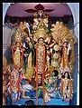Andul DUTTA CHAUDHURY Bari Durga Puja 2011.jpg