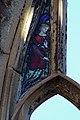 Angel 1, East window of St Luke's, Liverpool.jpg