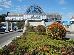 Main gate of the Clark Freeport Zone in Angeles