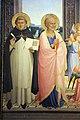 Angelico, pala di fiesole, con sfondo di lorenzo di credi, 01.JPG