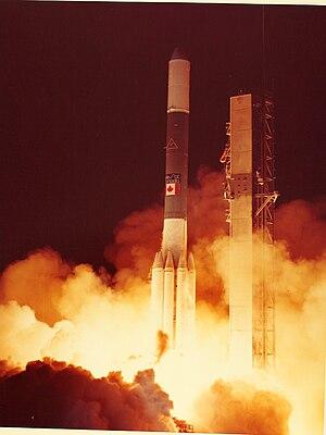Anik (satellite) - Launch of Anik B1 in December 1978
