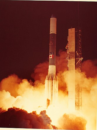 Anik (satellite) - Launch of Anik B1 in December 1978
