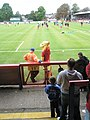 Animated chat at The Recreation Ground - geograph.org.uk - 992785.jpg