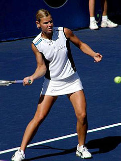 Anke Huber German tennis player