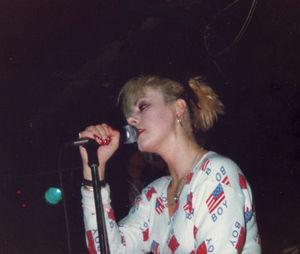 Anne-Marie Hurst - Anne-Marie Hurst singing in 1988