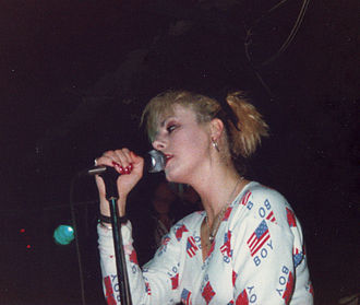 Anne-Marie Hurst - Anne-Marie Hurst singing in 1988