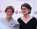 Annegret Kramp-Karrenbauer - Ministerpräsidentin Saarland, Frauke Gerlach (Director Grimme-Institution).jpg