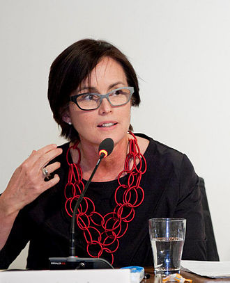 Annmarie Adams - Annmarie Adams speaking at an IGSF event in February 2013