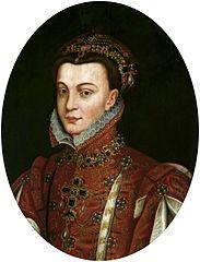 Portret Elżbiety Walezjuszki, królowej Hiszpanii