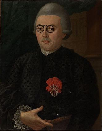 Biblioteca Nacional de Portugal - António Ribeiro dos Santos, the first director of the library.