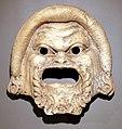 Antica roma, decorazione architettonica con maschera teatrale, II secolo dc ca.jpg