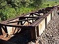 Antiga ponte ferroviária Ytuana-Sorocabana que estava sobre o Ribeirão Piraí, limite dos municípios de Salto e Indaiatuba. Retirada para duplicação da ferrovia. - panoramio (1).jpg