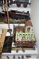 Antique toy railroad car (27085080841).jpg