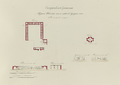 Antiquities of Samarkand. Madrasah of Shaybani Khan and Tomb of Kuchkunji Khan. Plans, Elevations, and Sections WDL3583.png