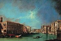 Antonio Canal - Il Canal Grande dalle prossimità del ponte di Rialto.jpg