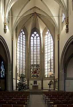 Antoniterkirche Köln - Innenraum (4349)