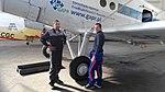 Antonov An-2 SP-AOB, Tomasz Wostal, Michał Tabor, Gliwice 2017-10-01.jpg