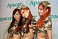 Apacer promotional models at Computex 20100605.jpg