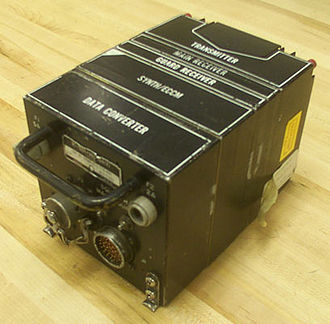AN/ARC-164 - ARC-164 Receiver/Transmitter (RT-1504) used for remote installations.
