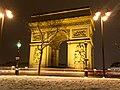 Arc de Triomphe + snow (8400603438).jpg