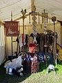 Archeon Tent LegioII standaards Romeinenfestival fotoCThunnissen.jpg