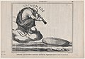 Archimède riant des efforts impuissants que font les Anglais pour mettre à flot le Leviathan, from Actualités, published in Le Charivari, December 5, 1857 MET DP876674.jpg