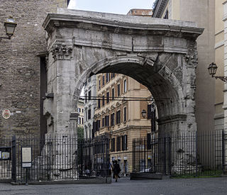 Porta Esquilina gate of Servian Wall, Rome