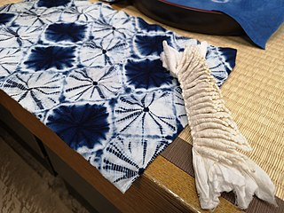 <i>Shibori</i> Dyeing technique from Japan