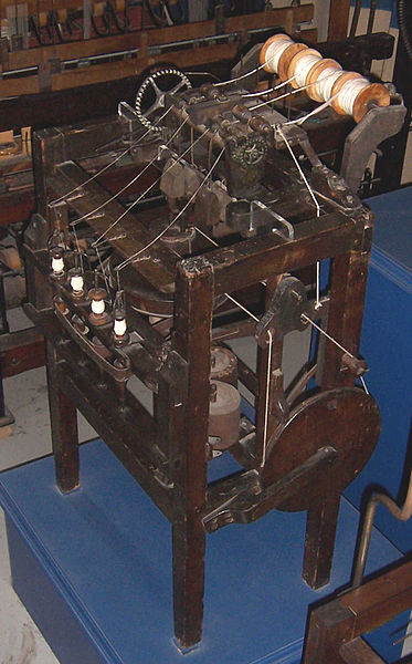 File:Arkwright-water-frame.jpg - Wikimedia Commons