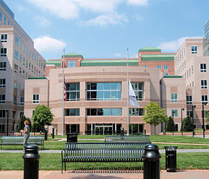 Federal Deposit Insurance Corporation - The FDIC's satellite campus in Arlington, Virginia, is home to many administrative and support functions, though the most senior officials work at the main building in Washington