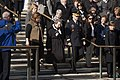 Arlington Ladies place a wreath at the Tomb of the Unknown Soldier (30889235762).jpg