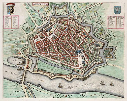 Arnhem - Aernhem (Atlas van Loon)